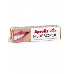Aprolis – HERPROPOL Balsam de buze Roll-on cu plante si propolis, 5 ml