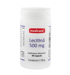 Lecitina 500 mg 50 capsule