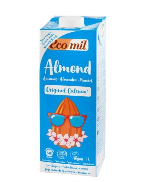 Ecomil – Băutură BIO de migdale cu calciu, 1 l