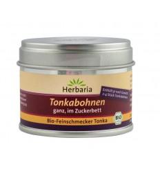 Boabe Tonka BIO in zahar brun, 50 g Herbaria