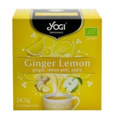 Yogi Tea – Ceai BIO ghimbir, lamaie si mar, 24 g