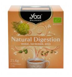 Yogi Tea – Ceai BIO Digestie naturala, 21,6 g