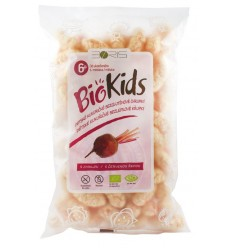 BioKids – Pufuleti BIO cu sfecla rosie, 55 g