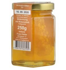 Inkerei HELLER – Miere BIO poliflora cu bucata de fagure, 250 g