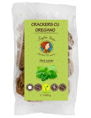 Crackers cu oregano, fara zahar, 100 g