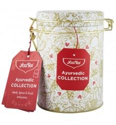 Cutie de colectie cu 30 pliculete de ceai Ayurvedic Collection Yogi Tea