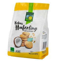 Bohlsener Muhle - Haferling - Biscuiti Bio crocanti din ovaz cu fulgi de cocos, 125g