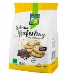 Bohlsener Mühle – Haferling – Biscuiți bio/ecologici crocanți din ovăz cu bucățele de ciocolată, 125g