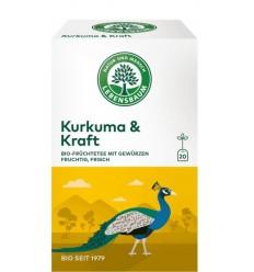 Lebensbaum – Ceai bio curcurma & vigoare, 20 plicuri x 2g, 40g