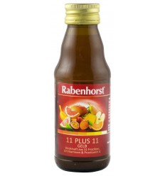 "RABENHORST - ""11 PLUS 11"", SUC PUR MULTI-FRUCT, 125ML"