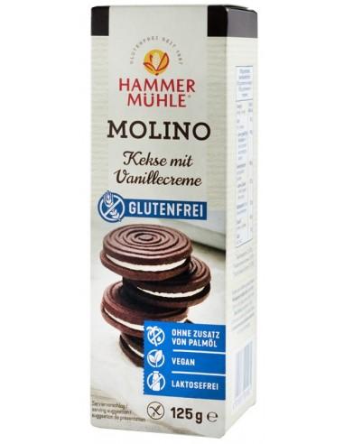 Hammer Muhle - Molino, biscuiți cu crema de vanilie, 125 g