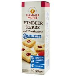 Hammer Muhle - Biscuiti cu zmeura si crema de vanilie, 125 g