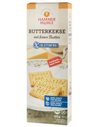 Hammer Muhle - Biscuiti BIO cu unt fin, 125 g