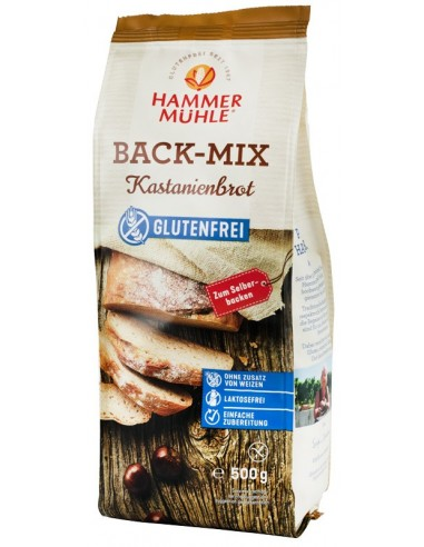 Hammer Muhle - Mix pentru paine cu faina de castane, 500 g