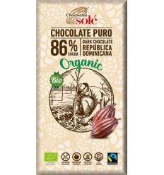Ciocolată neagră BIO 86% cacao Chocolates Sole 100 g
