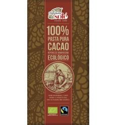 Ciocolată neagră BIO 100% cacao, 100g