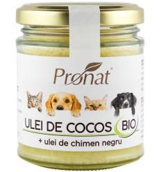 ULEI DE COCOS BIO + ULEI DE CHIMEN NEGRU 200ML