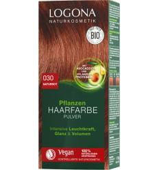 LOGONA – Vopsea de par BIO, 100 g ROSCAT NATURAL - Nuanta 030