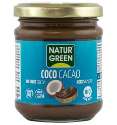 NATUR GREEN – PASTA BIO DE COCOS CU CACAO, 200G