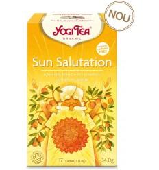 YOGI TEA – CEAI BIO SUN SALUTATION, 34,0G