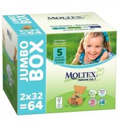 Moltex - Scutece pentru copii mici (11-25kg), pachet jumbo