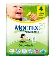 Moltex - Scutece pentru bebeluși (7-18kg), pachet mini