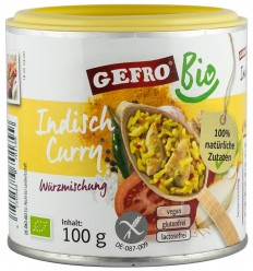 "GEFRO-AMESTEC BIO DE CONDIMENTE ""CURRY INDIAN"" 100G"