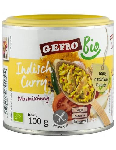 """GEFRO-AMESTEC BIO DE CONDIMENTE """"CURRY INDIAN"""" 100G"""