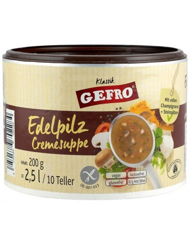 GEFRO - SUPA CREMA DE CIUPERCI, 200G