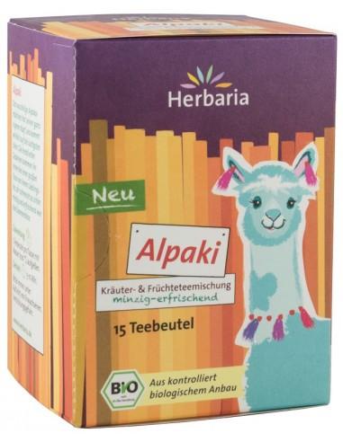 HERBARIA – CEAI BIO DIN PLANTE SI FRUCTE ALPAKI, 15x1,8G