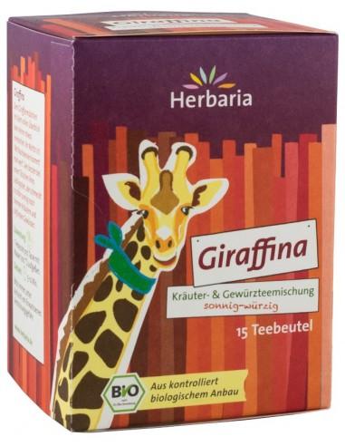 HERBARIA – CEAI BIO DIN PLANTE SI CONDIMENTE GIRAFFINA, 15x1,8G