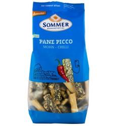 Sommer - Pane picco cu mac si chili, BIO si Demeter 150g