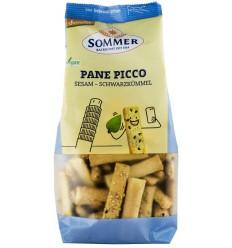 Sommer – Panne Picco – mini grisine bio cu susan si chimen negru, Demeter 150 gr
