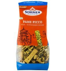 Sommer – Panne Picco Asia cu susan negru – mini grisine bio din alac, orz si mei, Demeter 150 gr