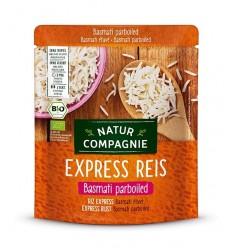 Orez Basmati BIO cu bob lung, prefiert, Express Reis, 250 g Natur Compagnie