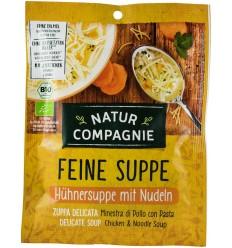 Natur Compagnie -Supă de pui cu tăiței, 40g