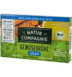 Natur Compagnie - Cuburi bio pentru supa de pui, 88g (8x11g)