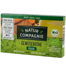 Supa bio de legume, 8 cuburi NATUR COMPAGNIE