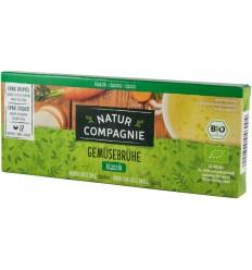 Natur Compagnie - Supa bio de legume, 8 cuburi