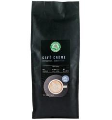 CAFEA BOABE BIO PRAJITA SI DECOFEINIZATA – CAFE CREME, 500G LEBENSBAUM