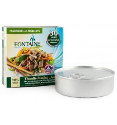 """Salata de ton """"Asia"""" cu legume bio si ulei de floarea soarelui presat la rece, 200g Fontaine"""