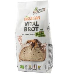 BIOVEGAN – Premix bio pentru paine Vital, fara gluten, 315g