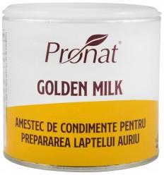 GOLDEN MILK,  AMESTEC DE CONDIMENTE PENTRU PREPARAREA LAPTELUI AURIU, 90G