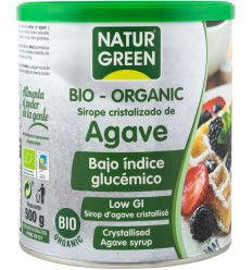 Natur Green – Zahar BIO obtinut din cristalizarea siropului de agave, cu indice glicemic scazut, 500g