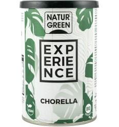 """Pudra BIO de chlorella """"Experience"""" 165 g Natur Green"""