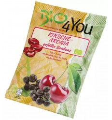 BIO FOR YOU – Dropsuri bio cu cirese si aronia 75gr