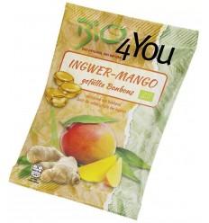 BIO 4 YOU – Dropsuri BIO cu ghimbir și mango, 75 g