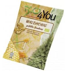 BIO 4 YOU – Dropsuri BIO cu miere de pădure, 75 g