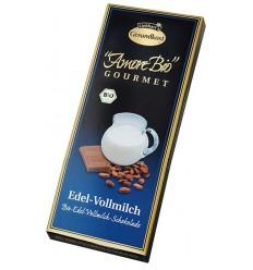 LIEBHART'S AMORE BIO – Ciocolată cu lapte, 100 g