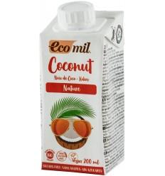 ECOMIL – LAPTE DE COCOS BIO NATUR, 200 ML